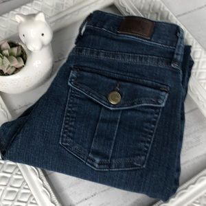 LEE Classic Fit At The Waist Blue Denim Jeans